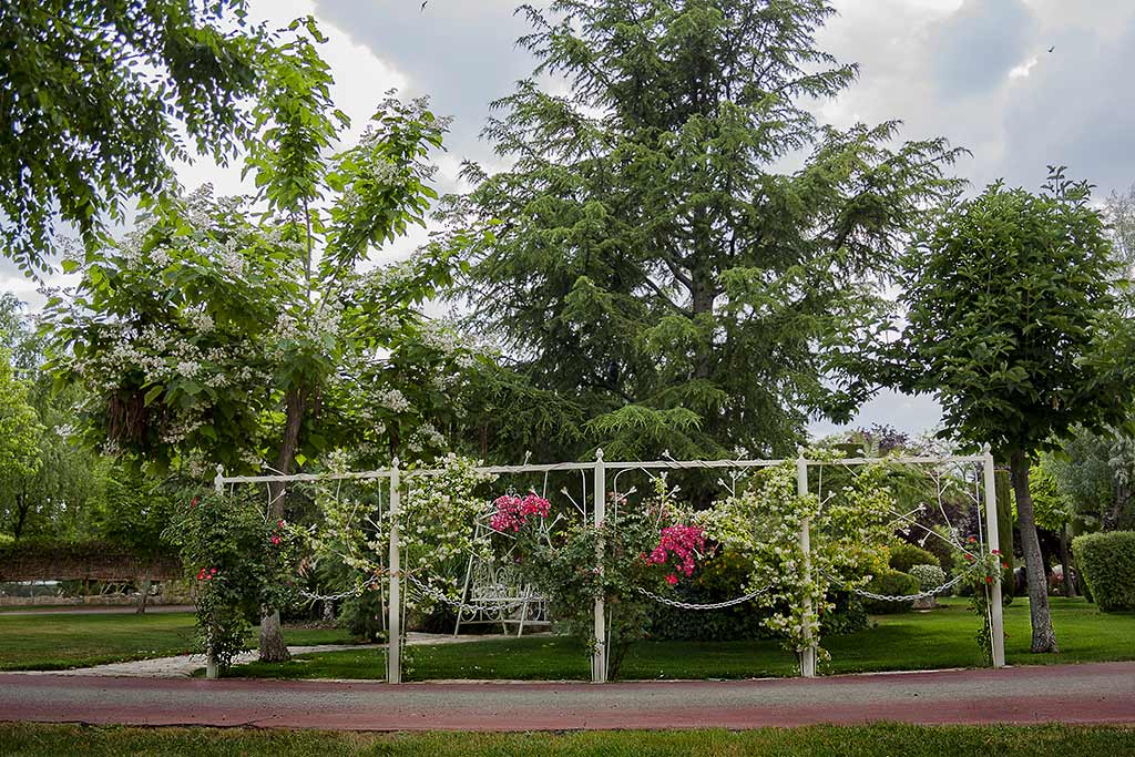 jardines Los arcángeles