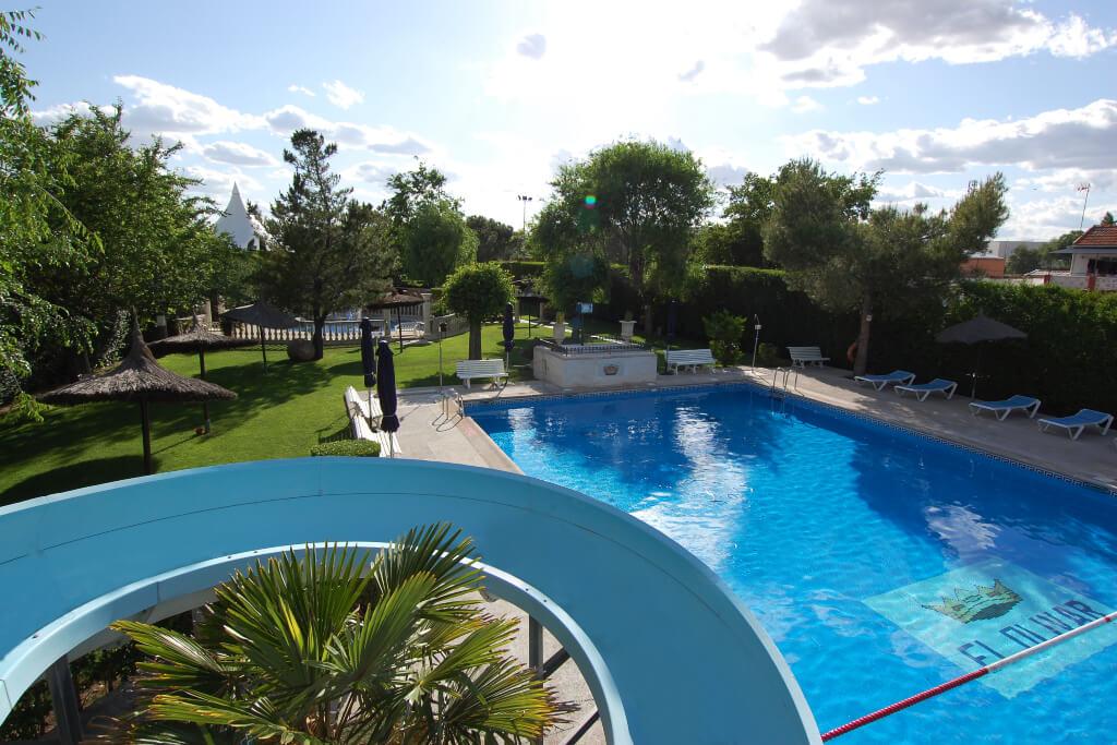 piscina para eventos