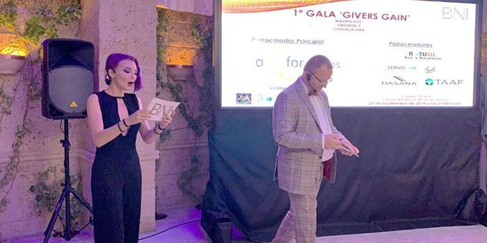 """1ª Gala """"Givers Gain"""" – BNI"""