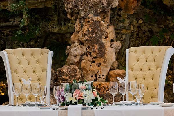 mesa nupcial de boda