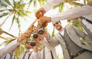 boda cóctel