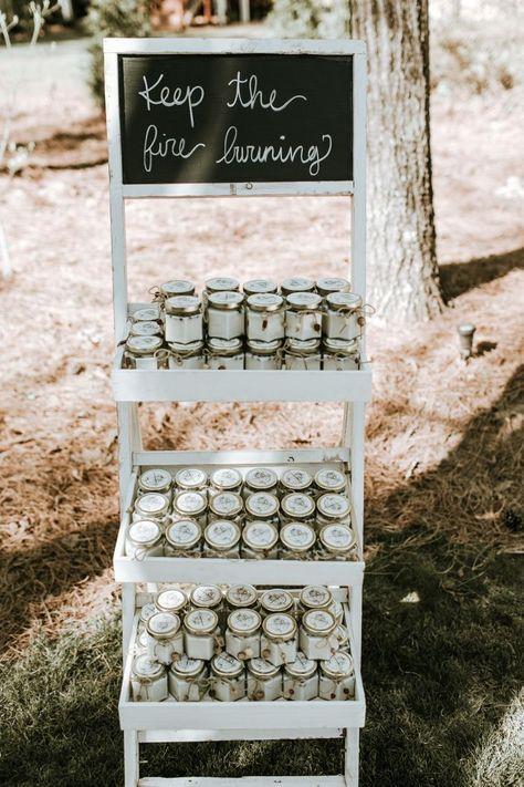velas como regalo para invitados de boda