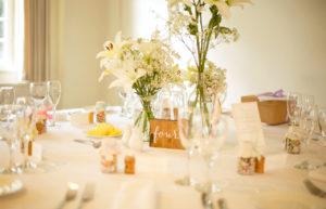 nombres de las mesas de la boda