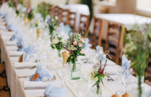 organizar las mesas de una boda