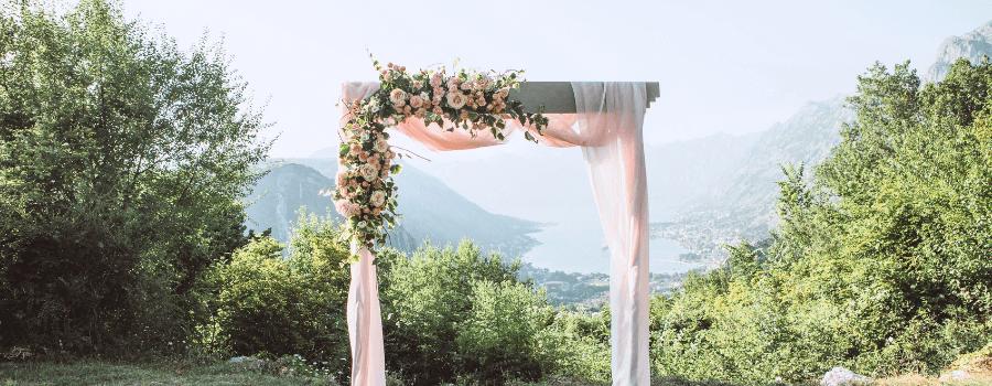 arco de boda
